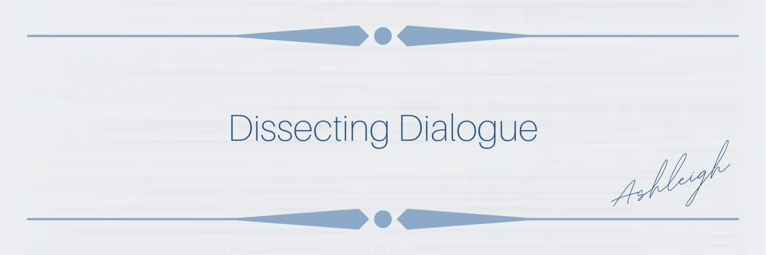 Dissecting dialogue